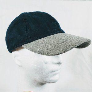 J. Crew Wool Color Block Baseball Hat Cap